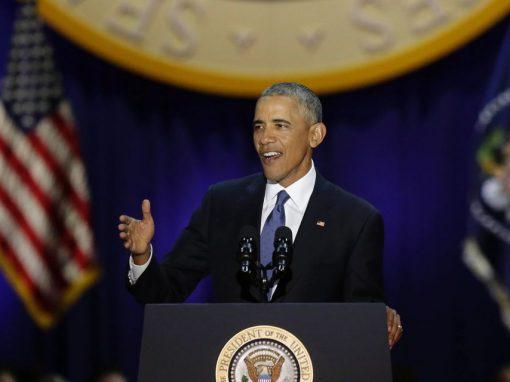 3 razones por las que el discurso de despedida de Obama será recordado por años